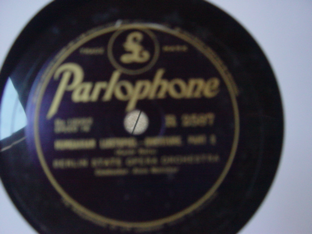 Aloise Melichar & Berlin State Opera Orch - Parlophone R.2587