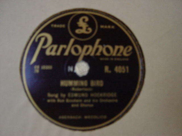 Edmund Hockridge - The Man from Laramie - Parlophone R.4051