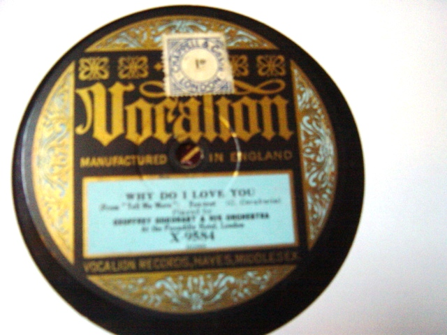 Geoffrey Goodheart - Tell me More - Vocalion X-9584