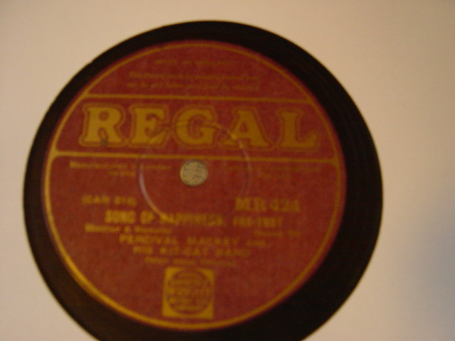 Percival Mackey - Song of Happiness - Regal MR.424