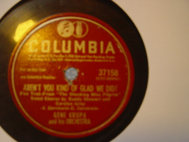 Gene Krupa - There is no breeze - Columbia 37158 USA