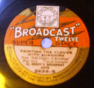 Al Benny's Broadway Boys - Tip toe thro Tulips - Broadcast 2528