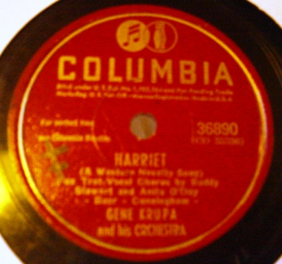 Gene Krupa - Are these really mine - Columbia 36890 USA