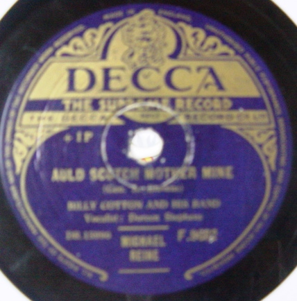Billy Cotton - A little French Cafe - Decca F.9682