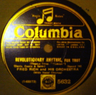 Fred Rich - Revolutionary Rhythm - Columbia 5632