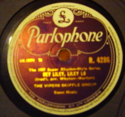 Vipers Skiffle Group - Jim Dandy - Parlophone R.4286 E+