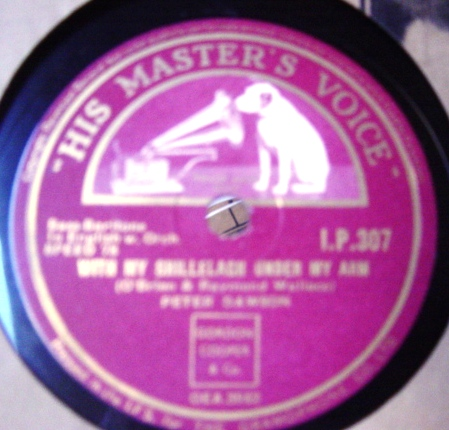 Peter Dawson - Phil the Fluters Ball - HMV I.P.307 Irish