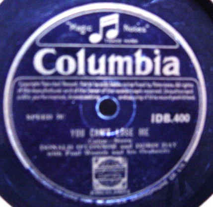 Doris Day & Donald O'Connor - No Two People - Columbia IDB.400