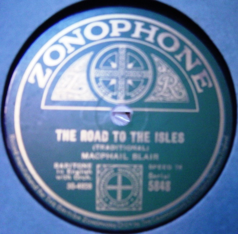 Macphail Blair - The Piper O' Dundee - Zonophone 5848
