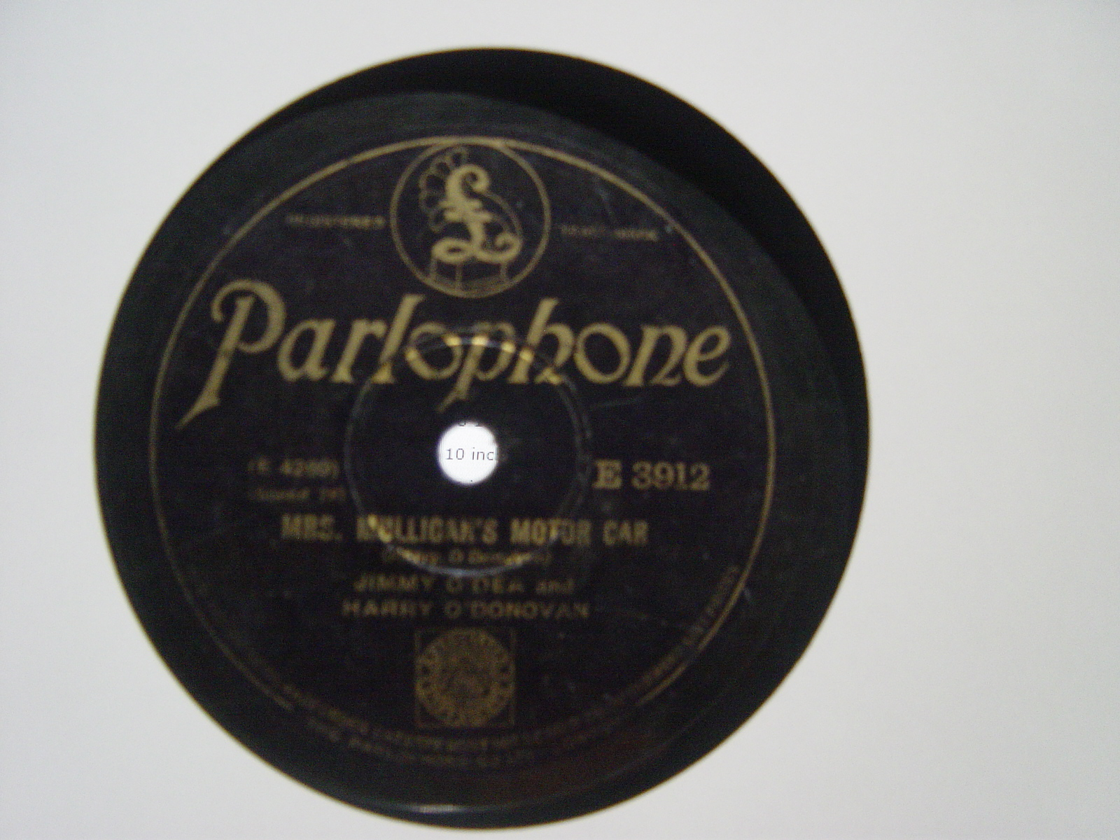 Jimmy O'Dea & Harry O'Donovan - Parlophone E.3912