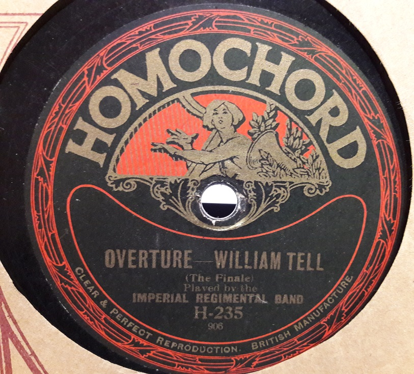 Imperial Regimental Band - William Tell Overture - Homochord 235