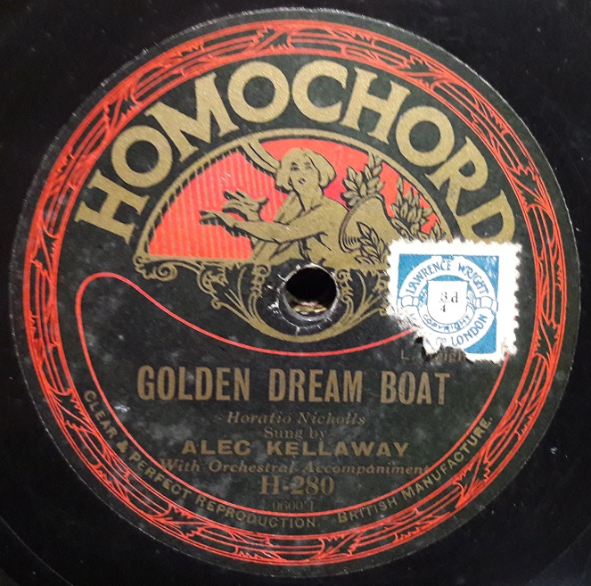 Alice Kellaway - Golden Dream Boat - Homochord H.280