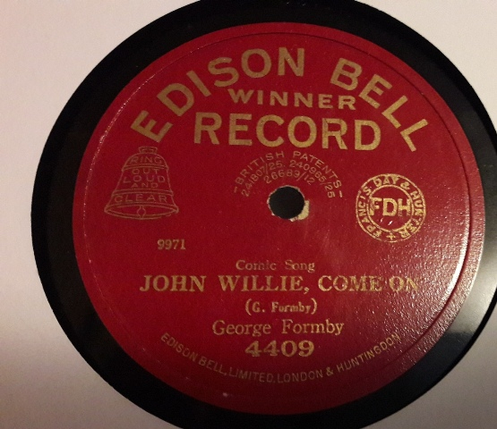 George Formby - John Willie , come on - Edison Bell 4409 E