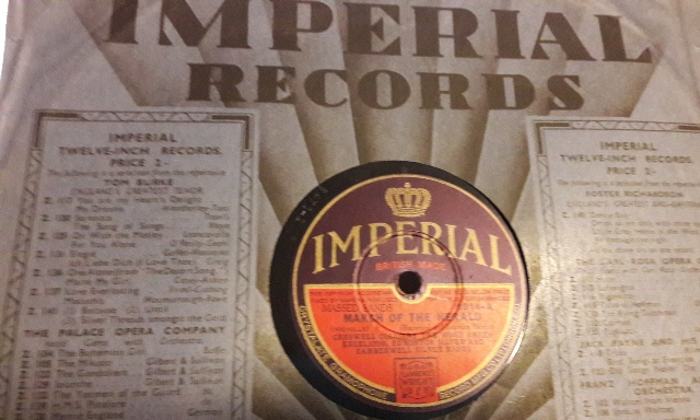 Various Massed Bands - March of the Herald - Imperial 2914