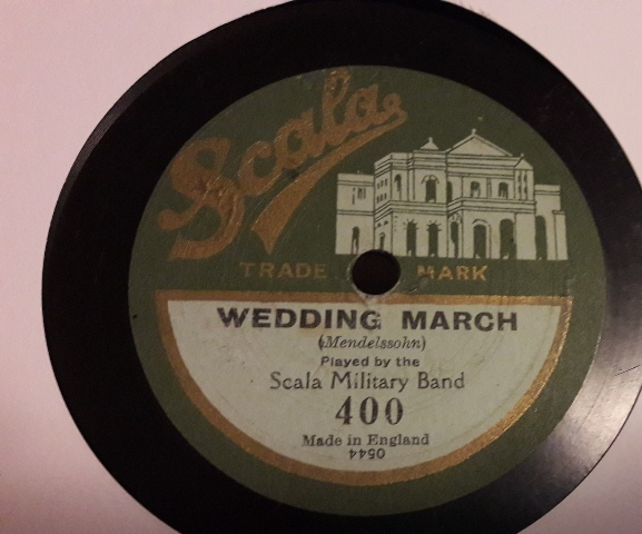 Scala Military Band - Wedding March - Scala Records 400