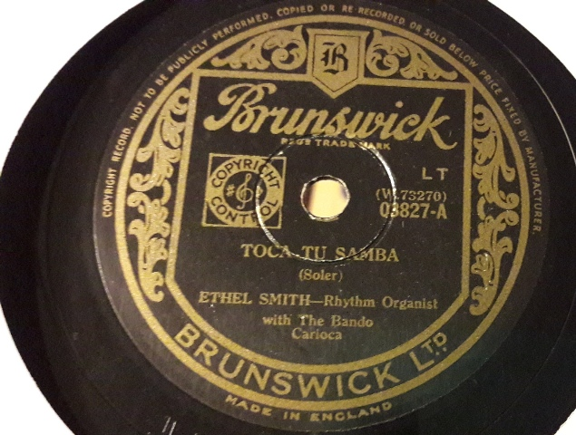 Ethel Smith - Toca Tu Samba - Brunswick 03827