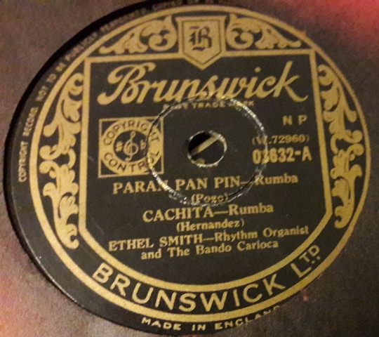 Ethel Smith - Paran Pan Pin - Brunswick 03632