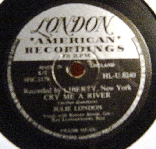 Julie London - Cry me a river - London HLU.8240