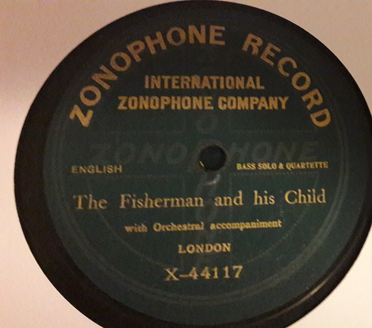 Peter Dawson - A fisherman and his Child - Zonophone X.44117