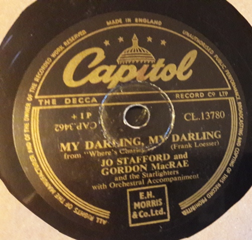 Jo Stafford & Gordon Macrae - Yesterday - Capitol CL.13780