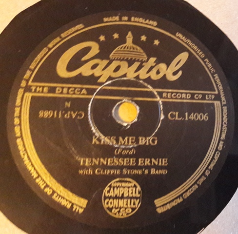 Tennessee Ernie - Catfish Boogie - Capitol CL.14006