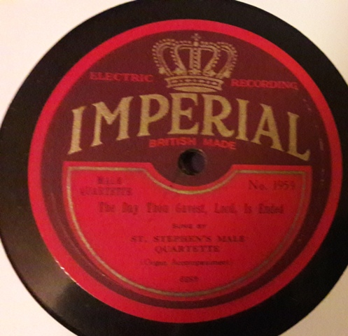 St. Stephen's Male Quartette - Rock of Ages - Imperial 1959