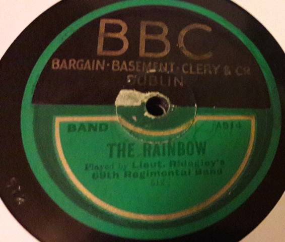 Ridegley's 69th Regiment Band - The Rainbow - Imperial A514