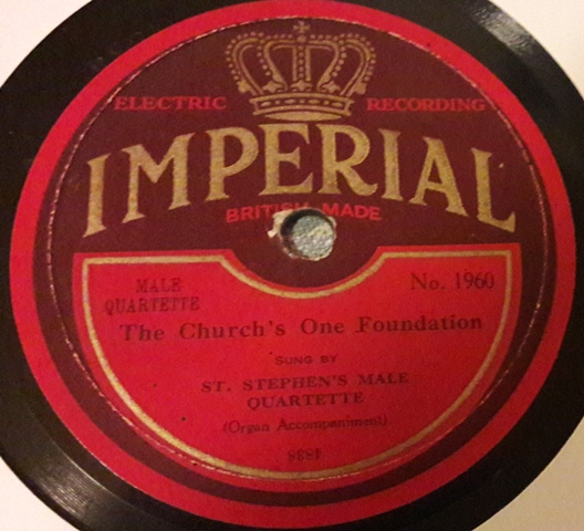 St. Stephen's Male Quartette - Holy Holy Holy - Imperial 1960