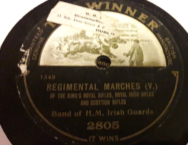 Band of H.M. Irish Guards - Regimental Marches - Winner 2805