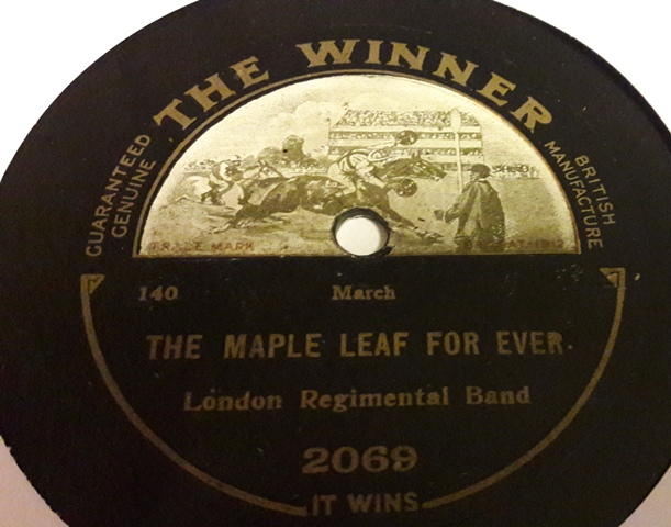 London Regimental Band - The Maple leaf forever - Winner 2069