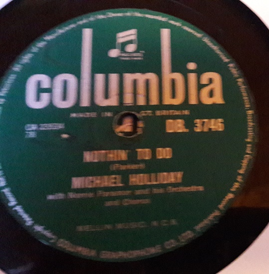 Michael Holliday - Perfume , Candy & Flowers - Columbia DB.3746