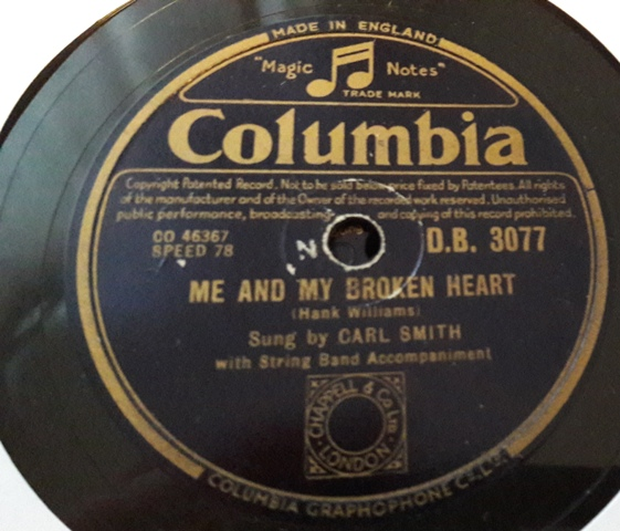Carl Smith - Let's live a little - Columbia DB.3077