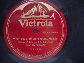 JOHN McCORMACK - WHEN YOU & I WERE - VICTROLA 87574 {84
