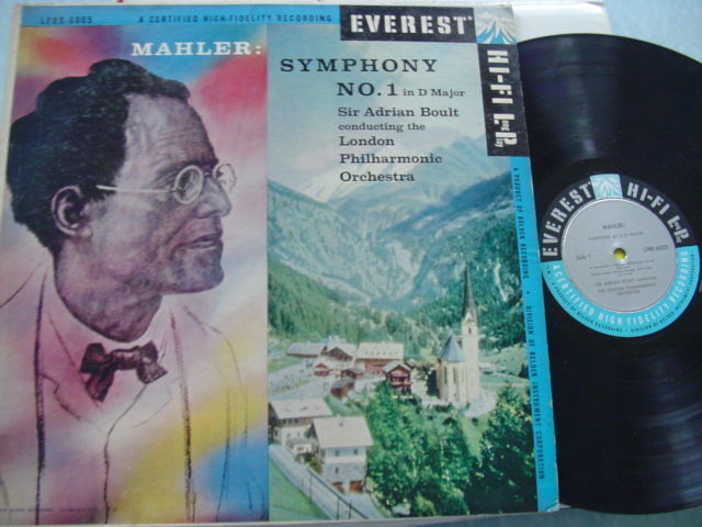 MAHLER - SYMPHONY No 1 - BOULT - EVEREST MONO