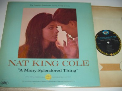 NAT KING COLE - MANY SPLENDORED THINGS - LONGINES