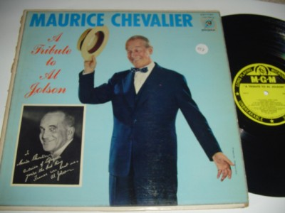 MAURICE CHEVALIER - TRIBUTE AL JOLSON - MGM { 157