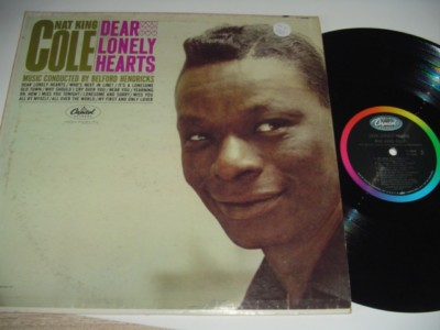 NAT KING COLE - DEAR LONLEY HEARTS - CAPITOL