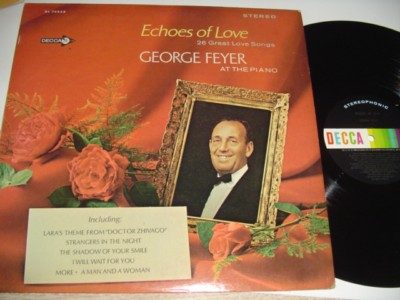 GEORGE FEYER - ECHOS OF LOVE signed - DECCA { 167