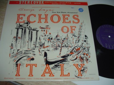 GEORGE FEYER - ECHOS OF ITALY - VOX { 180