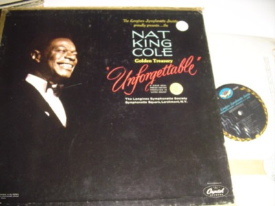 NAT KING COLE - UNFORGETTABLE - LONGINES 6 LP SET