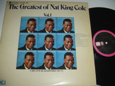 NAT KING COLE - THE GREATEST - DYNAMIC HOUSE 2LP