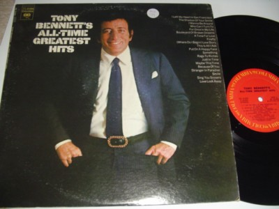 TONY BENNETT - ALL TIME GREATEST HITS - COLUMBIA 2LP