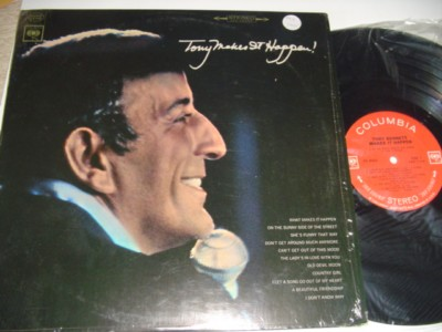 TONY BENNETT - TONY MAKES IT HAPPEN - COLUMBIA