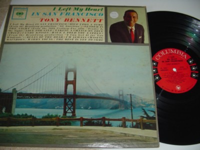TONY BENNETT - LEFT HEART IN SAN FRANCISCO - COLUMBIA