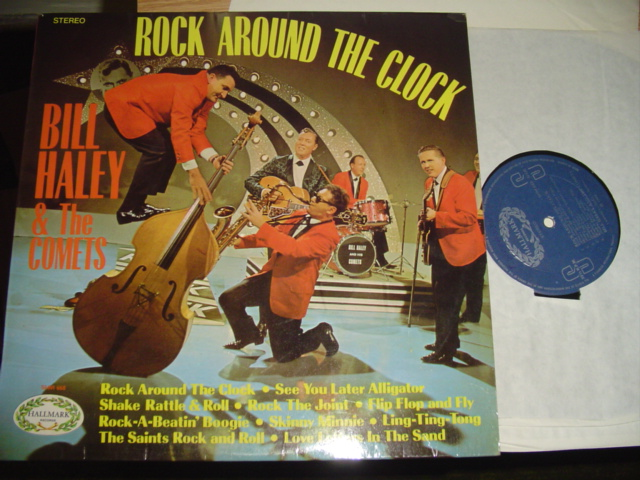 BILL HALEY - ROCK AROUND THE CLOCK - HALLMARK