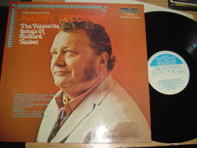 HARRY SECOMBE - FAVOURITE SONGS RICHARD TAUBER
