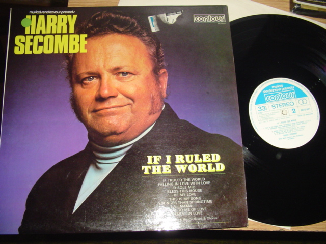HARRY SECOMBE - IF I RULED THE WORLD - CONTOUR