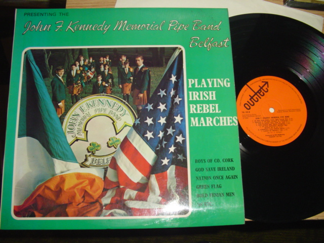 JOHN F KENNEDY PIPE BAND BELFAST - OUTLET RECORDS