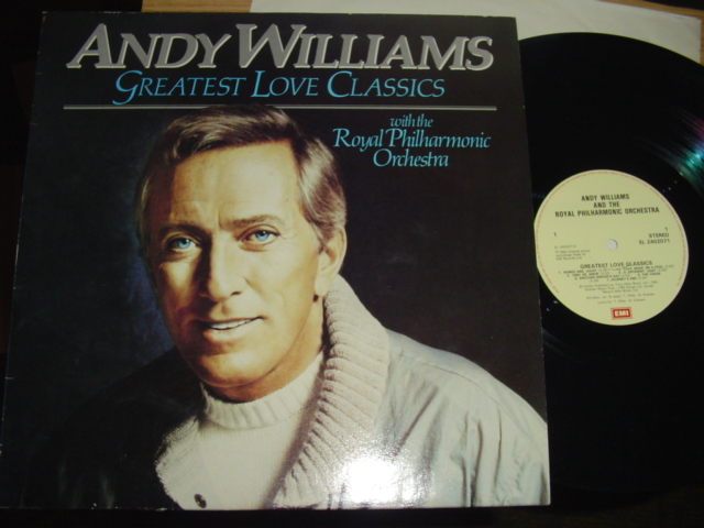 ANDY WILLIAMS - GREATEST LOVE CLASSICS - EMI