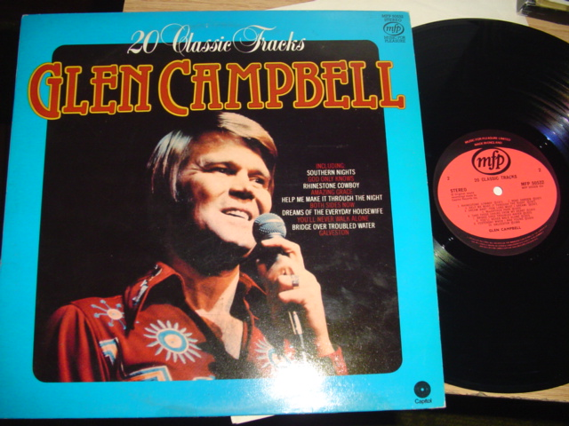 GLEN CAMPBELL - 20 CLASSIC TRACKS - MFP